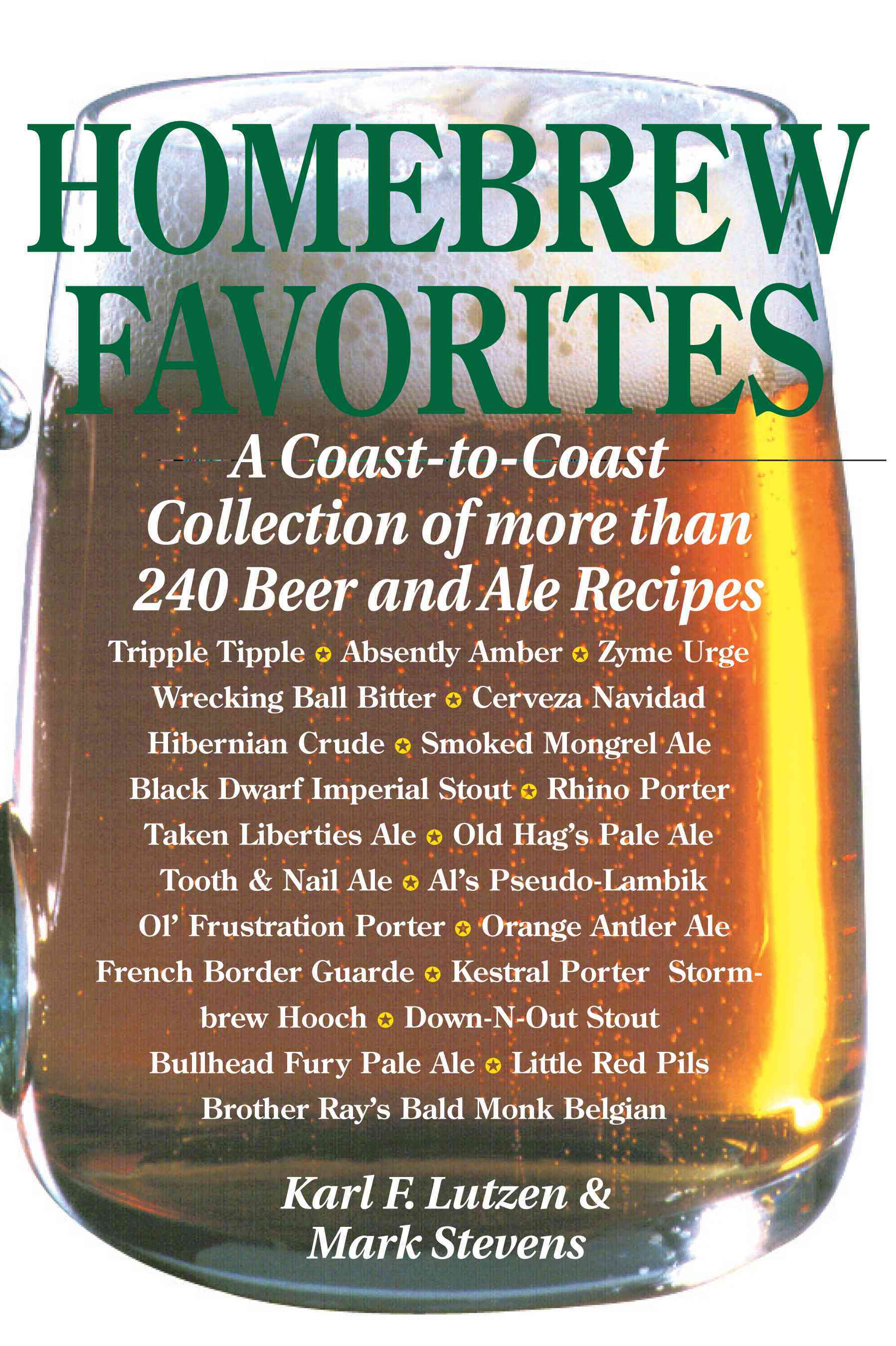 Homebrew Favorites By Lutzen, Karl F. (EDT)/ Stevens, Mark (EDT)